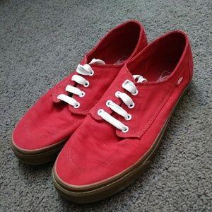 9706691fc5 Men s Red Vans